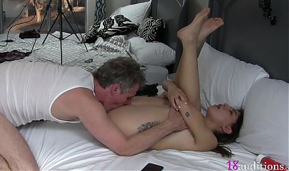 19yo Middle Eastern Amateur Fucked and Facial x 18auditions