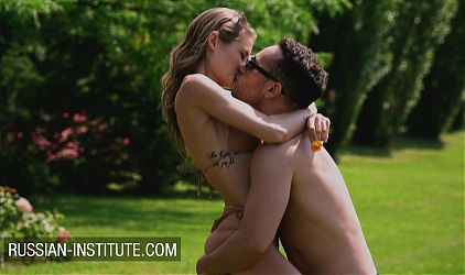 Sex in the park with gorgeous teen Tiffany Tatum