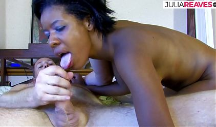 His first fuck with a beautiful black woman