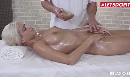 RELAXXXED, Erotic Massage Sex With Sexy Czech Teen Ria Sun