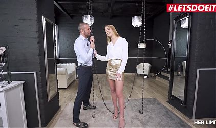 HER LIMIT – Hot Czech Babe Alexis Crystal Tries Anal With Luca